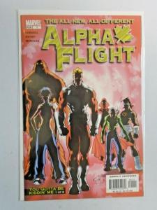 Alpha Flight #1 3rd Series Wolverine 8.0 VF (2004)