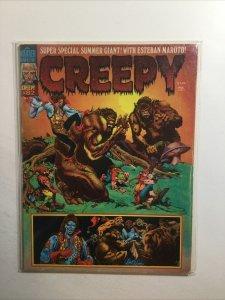 Creepy 82 Very Good Vg 4.0 Aug 1976 Warren Magazine