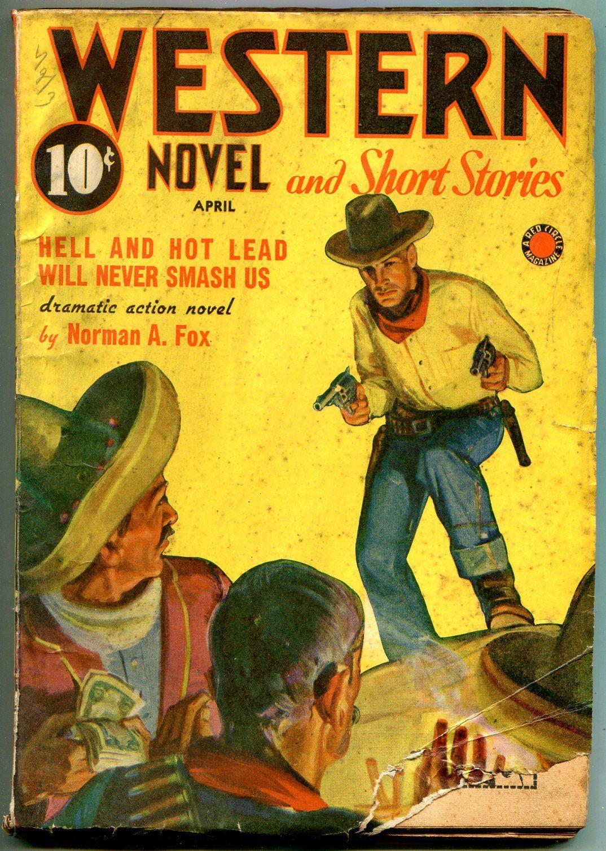 Western Novel And Short Stories Pulp April 1942- Norman Fox