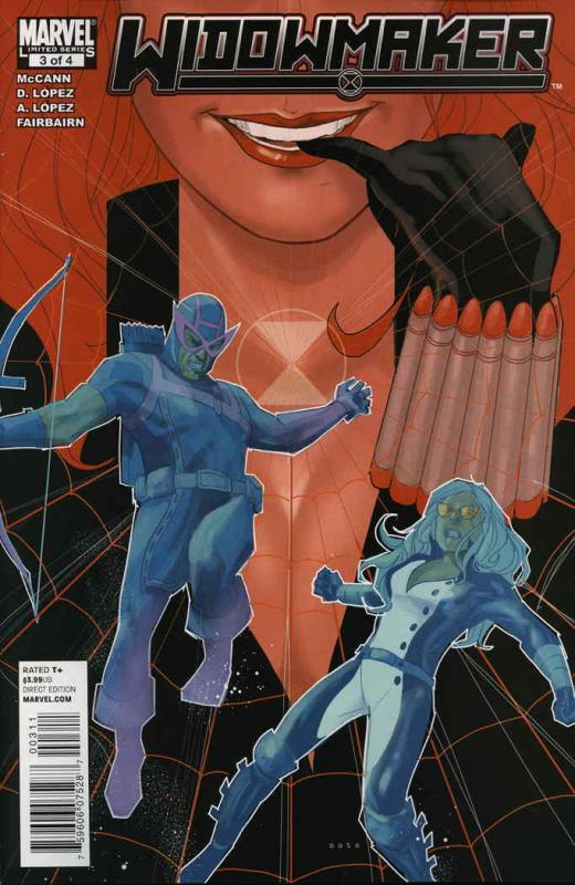 Widowmaker #3 VF/NM; Marvel | save on shipping - details inside