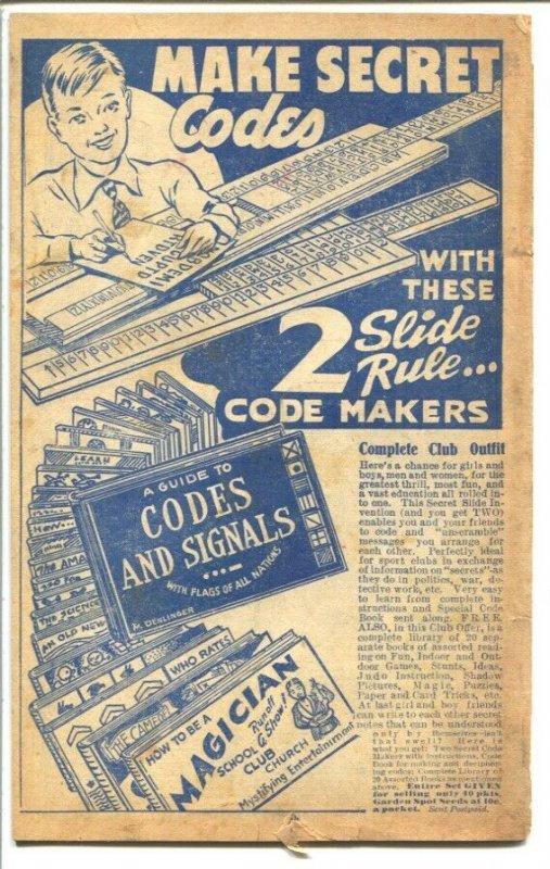 Lancaster Seed Co.-Promo Gift Catalog 1940's-Gene Autry Holster set-baseball equ
