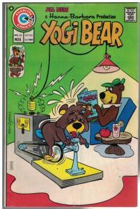 YOGI BEAR (1970 CHARLTON) 23 VG-F Nov. 1974 COMICS BOOK