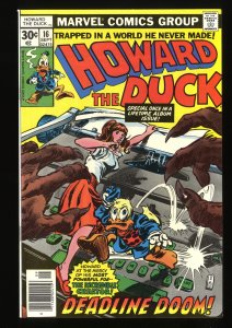 Howard the Duck #16 NM 9.4