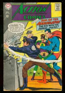 ACTION COMICS #356 1967-SUPERMAN-SON OF ANNIHILATOR FR/G