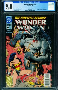 WONDER WOMAN #90 CGC 9.8 DC 1st appearance of Artemis 2050854016