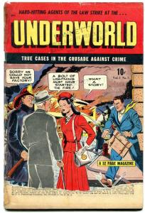Underworld Comics #5 1948-Golden Age Crime- Breeze Lawson- G-