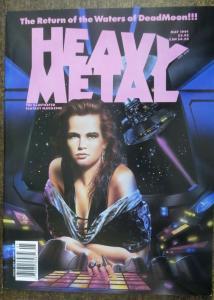 HEAVY METAL Vol.15 #2, May 1991. Peter Kuper, Seth Tobocman, Daniel Torres,VF