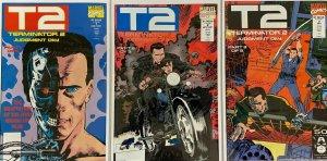 Terminator 2 judgement day set:#1-3 8.0 VF (1991)