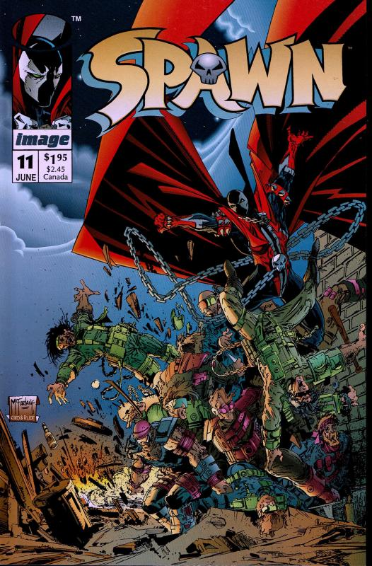 Spawn #11 - NM - 1992 early issue