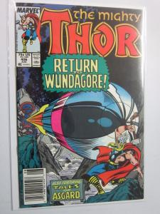 Thor (1962-1996 1st Series Journey Into Mystery) #406 - VF+ 8.5 - 1989 - NS