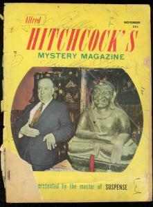 Alfred Hitchcock's Mystery Magazine November 1957-TALMAGE POWELL fair
