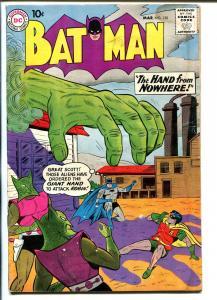 Batman #130 1960-DC-alien invasion cover-FR/G