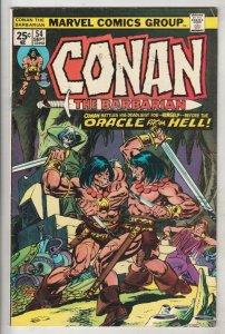 Conan the Barbarian #54 (Sep-75) VF/NM Mid-High-Grade Conan the Barbarian