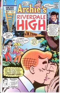 ARCHIES RIVERDALE HIGH (1991) 8 VF-NM Oct. 1991 COMICS BOOK