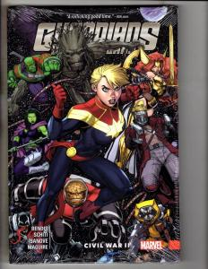 Guardians Of The Galaxy Vol. # 3 Civil War 2 HARDCOVER Marvel Comics SEALED J279