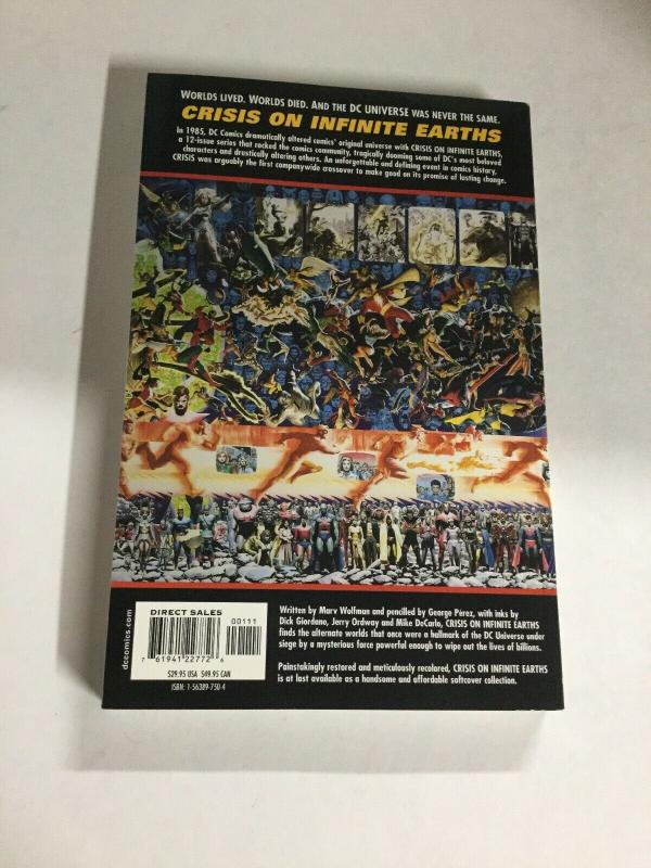 Crisis On Infinite Earths First Print Nm Near Mint DC Comics SC TPB