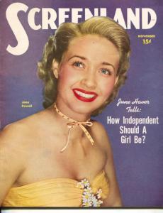 ScreenLand-Jane Powell-James Stewart-Charlton Heston-Janet Leigh-Nov-1950