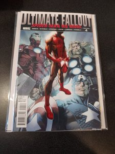 Ultimate Fallout #4 1st Print 1st Miles Morales Key Issue VF/NM
