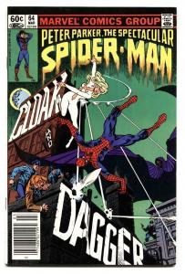 SPECTACULAR SPIDER-MAN #64 Comic Book FIRST Cloak and Dagger