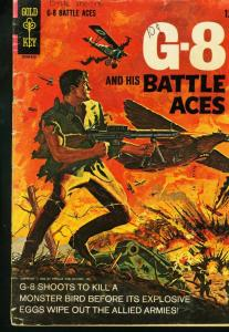 G-8 AND HIS BATTLE ACES #1 PULP CHARACTER COMIC BOOK FN/VF