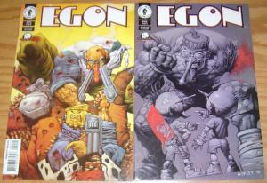 Egon #1-2 VF/NM complete series ALEX HORLEY dark horse comics 1998 tatjana