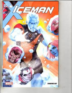 Iceman Thawing Out Vol # 1 Marvel Comics TPB Graphic Novel Comic Book J296