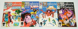 Mephisto #1-4 VF/NM complete series - fantastic four/x-factor/x-men/avengers 2 3