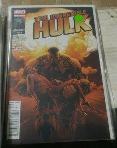 Incredible Hulk # 7. 2012 marvel bruce banner dies ? red she hulk immortal doom