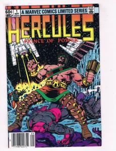 Hercules Prince Of Power #1 VF Marvel Comics Comic Book DE39 AD12
