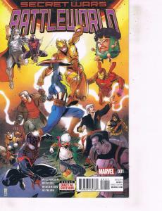 Lot Of 2 Comic Books Marvel Secret Wars Battleworld #1 and Scarlet Witch #4 ON9