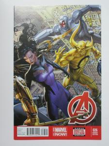 Avengers (Marvel 2014) #26 Weaver Variant AIM Superia + Evil Robots