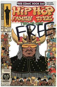 HIP HOP FAMILY TREE Two-in-One, NM, FCBD, 2014, more Promo / items in store
