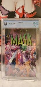The Mask #3 - CBCS 9.8 - Written by JOHN ARCUDI. Art & cover by DOUG MAHNKE