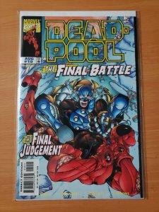Deadpool #19 ~ NEAR MINT NM ~ 1998 Marvel Comics