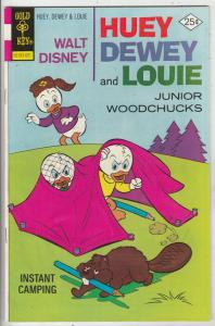 Huey Dewey and Louie Junior Woodchuks #36 (Jan-76) VF+ High-Grade Huey Dewey ...
