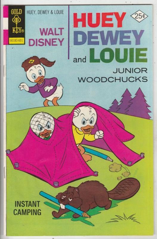 Huey Dewey and Louie Junior Woodchuks #36 (Jan-76) VF+ High-Grade Huey Dewey ...