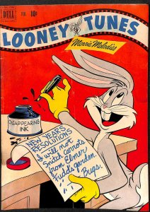 Looney Tunes and Merrie Melodies #124 VG- 3.5