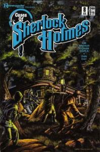 Cases of Sherlock Holmes #8 FN; Renegade | save on shipping - details inside