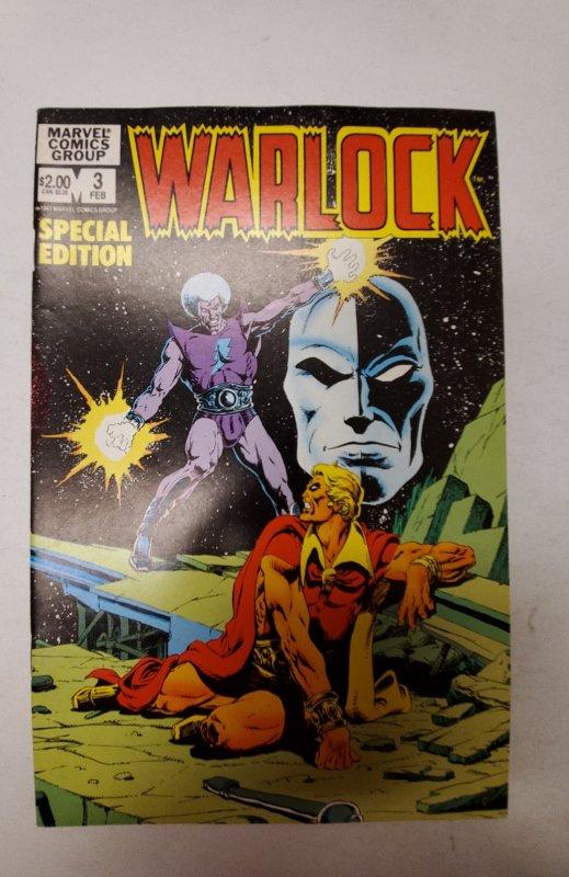 Warlock #3 (1983) NM Marvel Comic Book J667