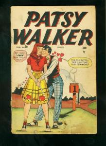 PATSY WALKER #20 1948-GOLF COVER-GEORGIE-CINDY-TIMELY COMICS-good