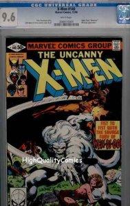 X-MEN #140, NM+, Alpha Flight, Wendigo, CGC = 9.6, White pgs, more in store