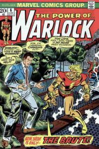 Warlock (1st Series) #6 VG; Marvel | low grade comic - save on shipping - detail