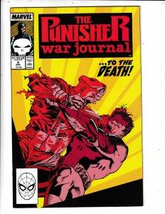 The Punisher War Journal #5 (1989) MARVEL COMICS