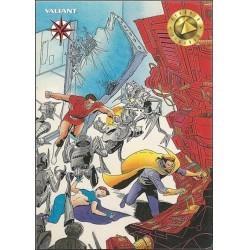 1993 Valiant Era MAGNUS ROBOT FIGHTER #10 - Card #11