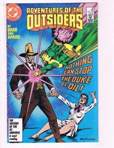 Adventures Of The Outsiders #44 VF DC Comic Book Barr Aparo 1986 DE8