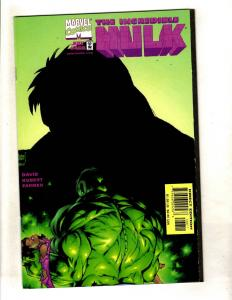 9 Incredible Hulk Marvel Comic Books # 466 504 37 39 41 43 44 46 Annual 01' J327