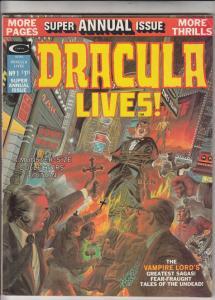 Dracula Lives Annual #1 (Jan-74) VF+ High-Grade Dracula