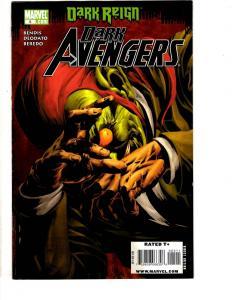 Lot Of 5 Dark Avengers Marvel Comic Books # 5 6 24 25 28 Iron Man Hulk Thor J295