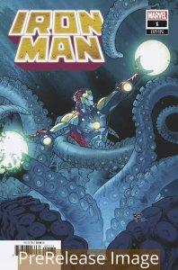IRON MAN (2020 MARVEL) #1 VARIANT SILVA LAUNCH PRESALE-09/16