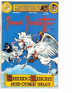 4 DC Comics Frank Frazetta # 2 Swamp Thing # 15 Flash # 10 Vigilante # 32 J222